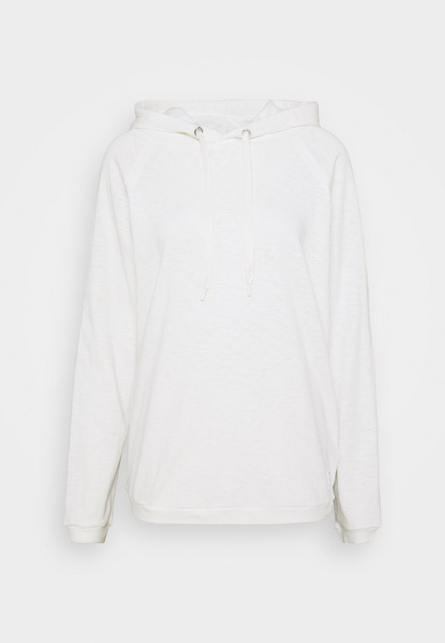 LONG SLEEVE - Sweat à capuche - scandinavian white
