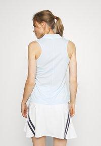 Nike Golf - DRY VICTORY - Funkční triko - topaz mist/white - 2