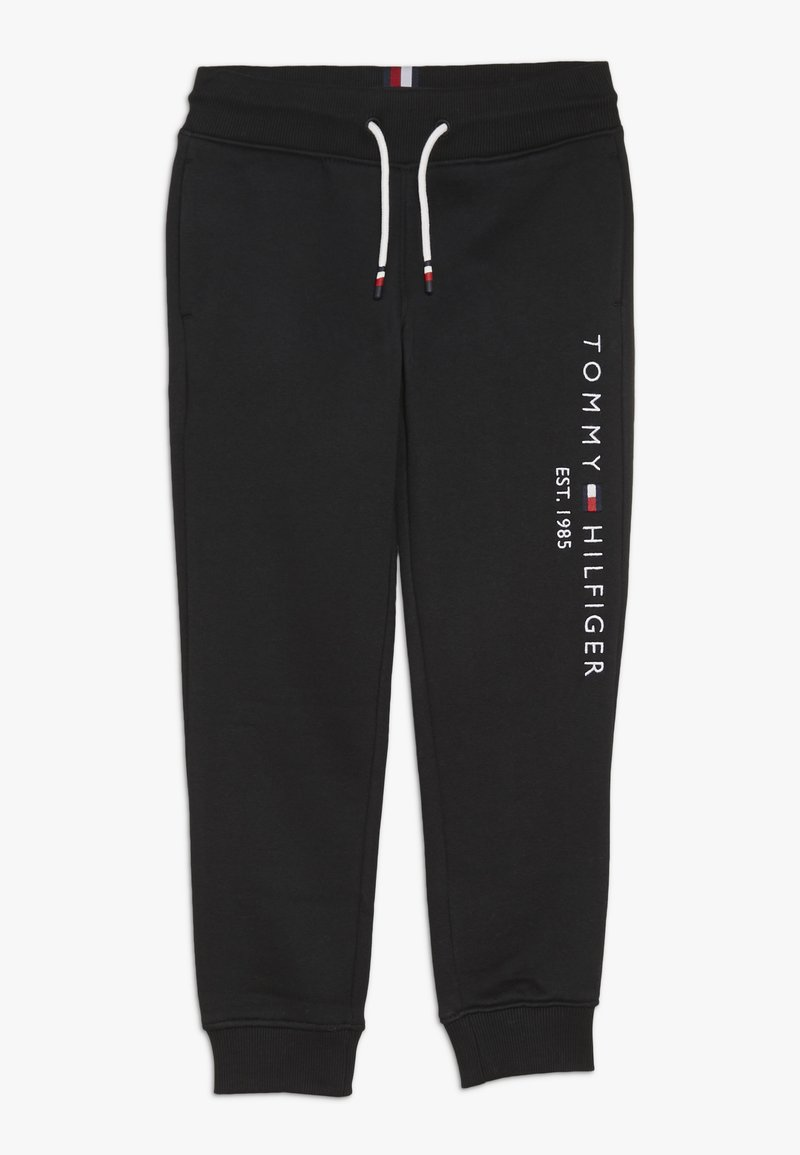 Tommy Hilfiger - ESSENTIAL - Tracksuit bottoms - black