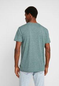 Esprit - PEACH GRINDL  - Basic T-shirt - dusty green - 2