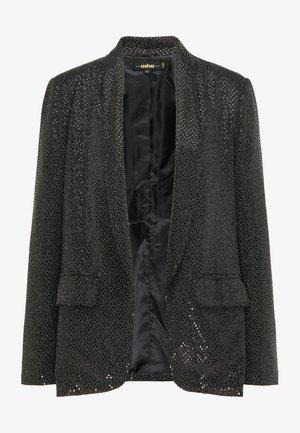 Blazer - schwarz silber