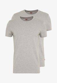 SOLID CREW 2 PACK - Undershirt - middle grey melange