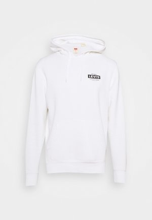 GRAPHIC HOODIE - Sweater - white