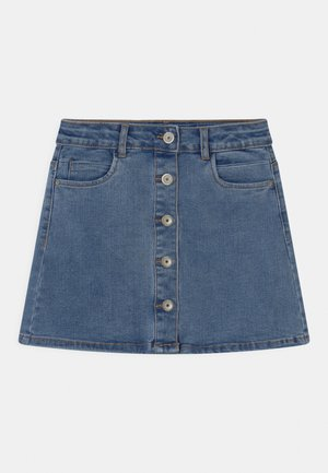 NKFRANDI  - Mini skirt - light blue denim