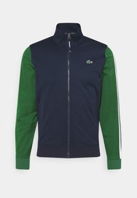 navy blue/green
