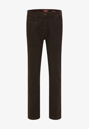 ROBIN - REGULAR FIT - Trousers - brown