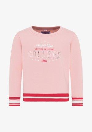Sweatshirt - rosa rot