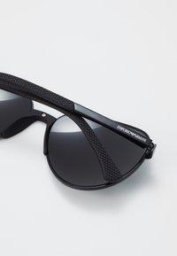 Emporio Armani - Sunglasses - black/grey - 4