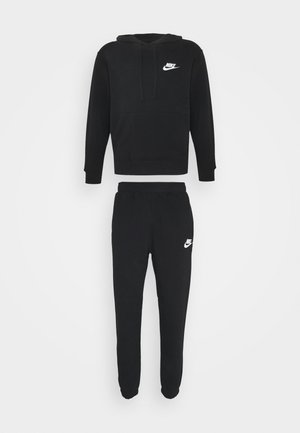 SUIT BASIC SET - Verryttelytakki - black/white