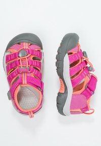 Keen - NEWPORT H2 - Walking sandals - very berry/fusion coral - 1