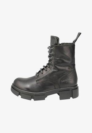 AMBER - Platform ankle boots - black