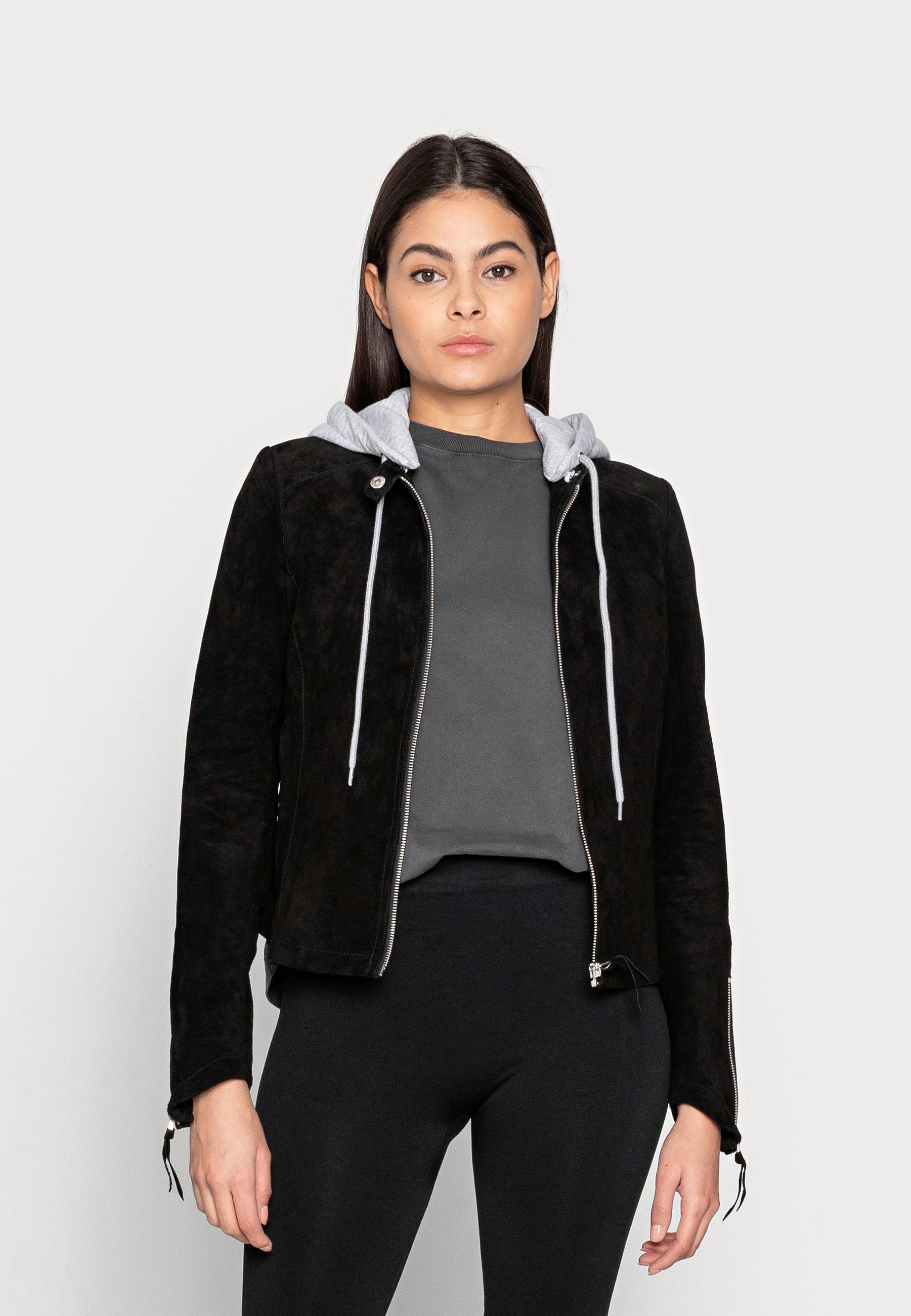 Women LAHJA - Leather jacket