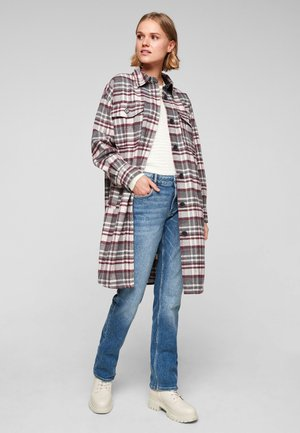 Classic coat - grey check