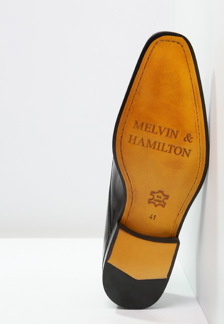 Melvin  Hamilton FRANK - Eleganta snörskor - black/svart - Herrskor ANIb5
