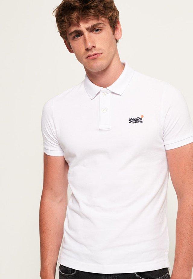 MIT KURZEN ÄRMELN - Poloshirt - white