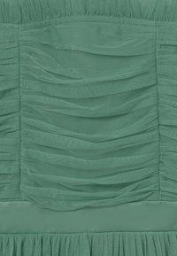 Anaya with love - SLEEVELESS RUFFLE DRESS - Koktejlové šaty/ šaty na párty - clover green - 2