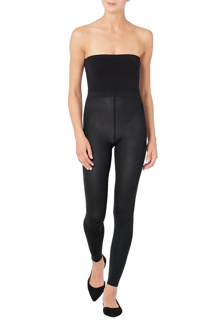 Wolford - VELVET - Leggings - Trousers - black