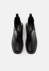 RAID - ZINNIA - Platåstøvletter - black - 5