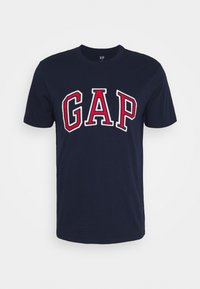 BAS ARCH - Print T-shirt - tapestry navy