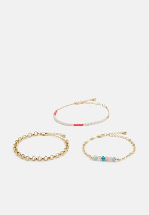 SARY BRACELETS 3 PACK - Bracelet - gold-coloured/multi