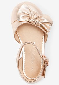 Next - Ankle strap ballet pumps - rose gold-coloured - 2