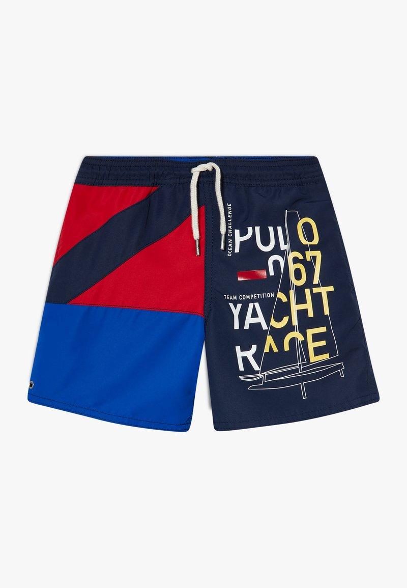 Polo Ralph Lauren - CAPTIVA SWIMWEAR  - Swimming shorts - newport navy multi