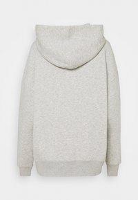 CLOSED - HOODIE WITH WHITE LOGO ACROSS CHEST - Sweatshirt - grey - 7