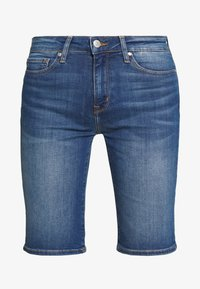 Tommy Hilfiger - VENICE BERMUDA ELFIE - Short en jean - blue denim - 4