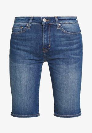 VENICE BERMUDA ELFIE - Denim shorts - blue denim