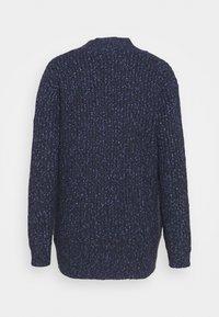 Marks & Spencer London - TWEEDY - Gilet - blue - 1