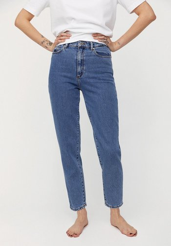 MAIRAA - Jeans Tapered Fit - mid blue