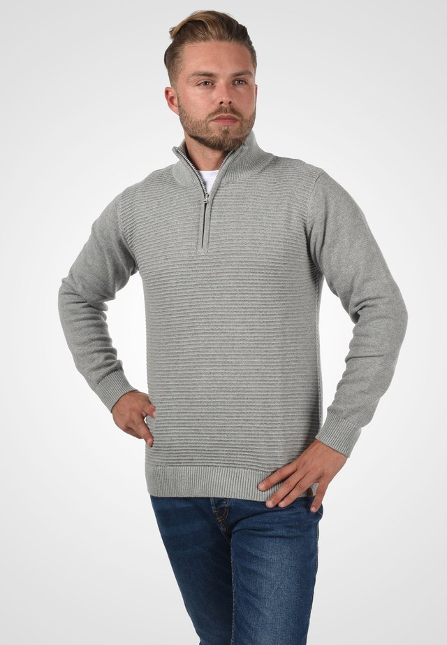 TROYER RICHARD - Pullover - light grey mix