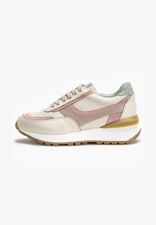 Sneakers laag - beige multi bem