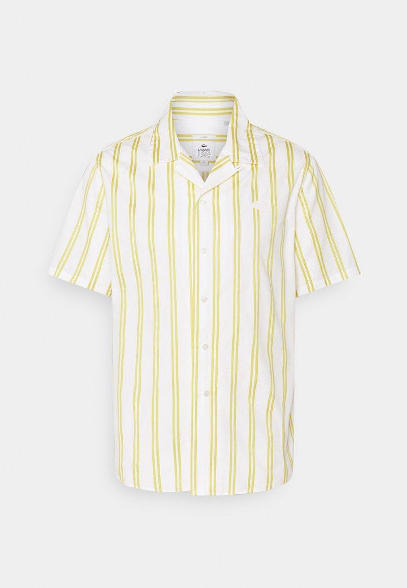 Lacoste LIVE - UNISEX - Shirt - flour/pineapple