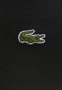 Lacoste - 3 PACK - Socks - noir - 1