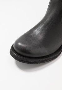 Felmini Wide Fit - COOPER - Vysoká obuv - lavado black - 2