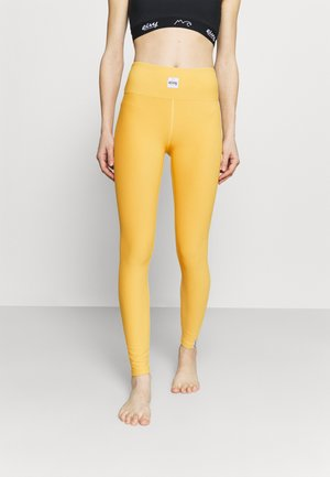 VENTURE - Leggings - mustard