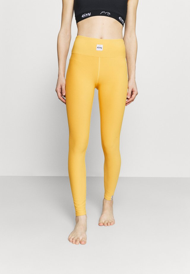 VENTURE - Leggings - mustard