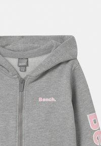 Bench - DELPHINE ZIP THROUGH - Mikina na zip - grey - 2