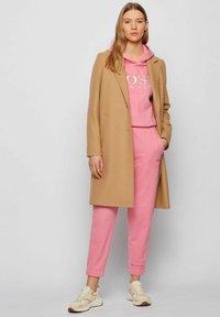 BOSS - Classic coat - light brown - 1