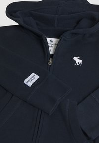 Abercrombie & Fitch - CORE FULLZIP  - Bluza rozpinana - navy - 3