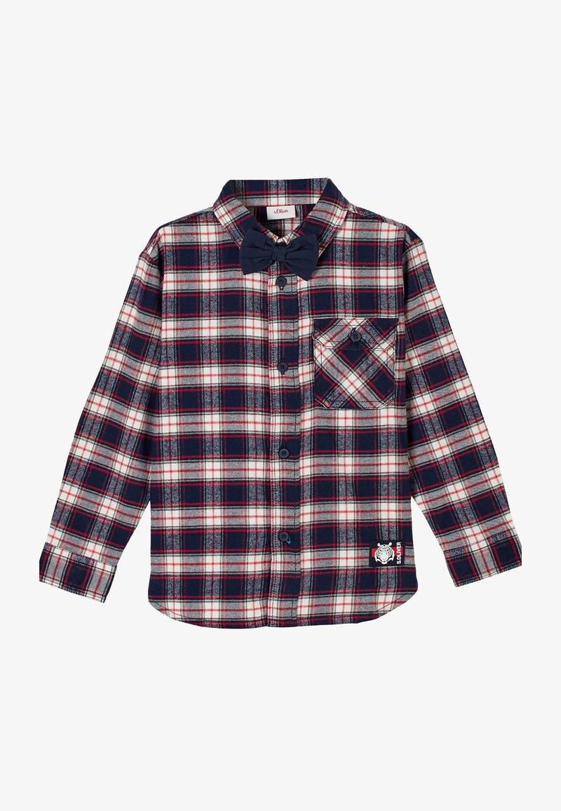 s.Oliver - Shirt - navy check