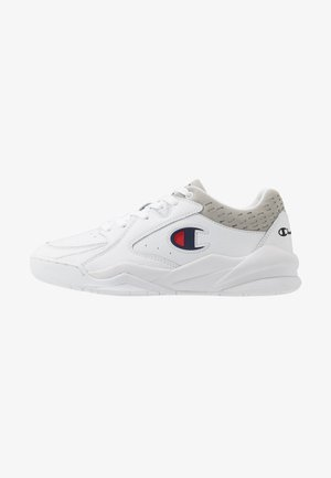 LOW CUT SHOE ZONE - Basketball shoes - white