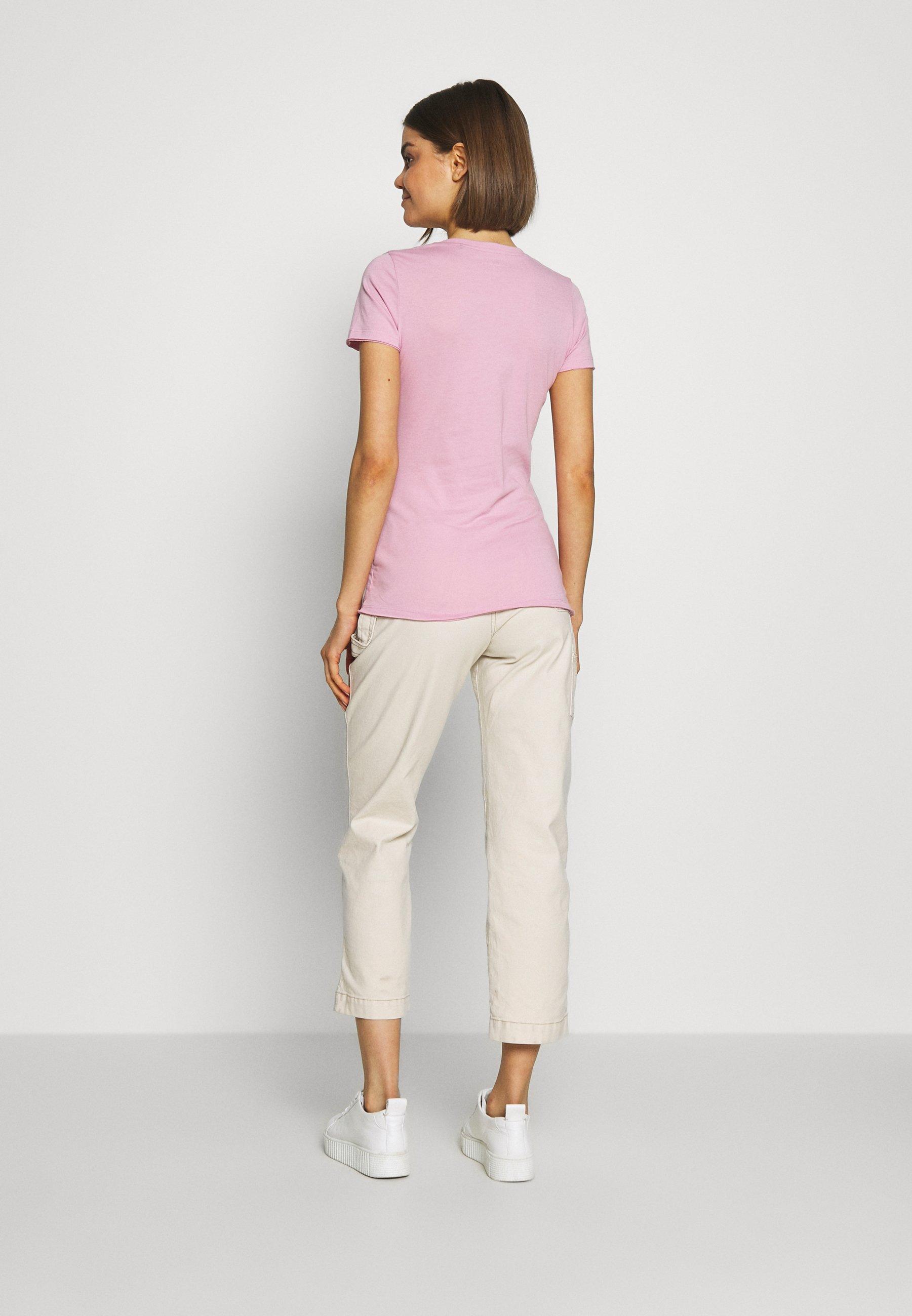 Pepe Jeans Agnes - T-shirts Med Print Malva/lyserosa