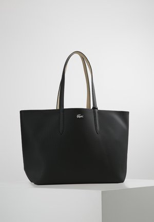 Tote bag - black warm sand
