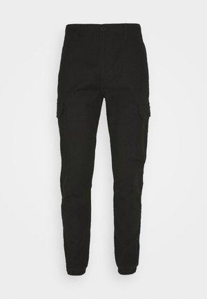 CARGO TROUSER - Pantalones cargo - black
