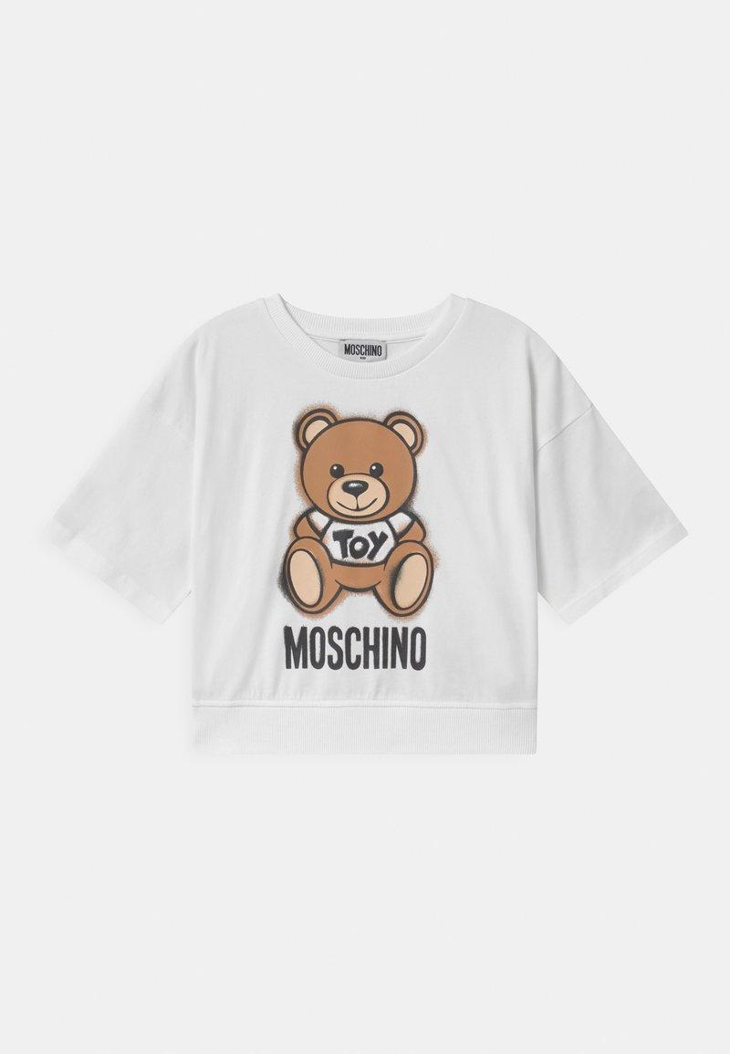 MOSCHINO - ADDITION - Print T-shirt - optic white