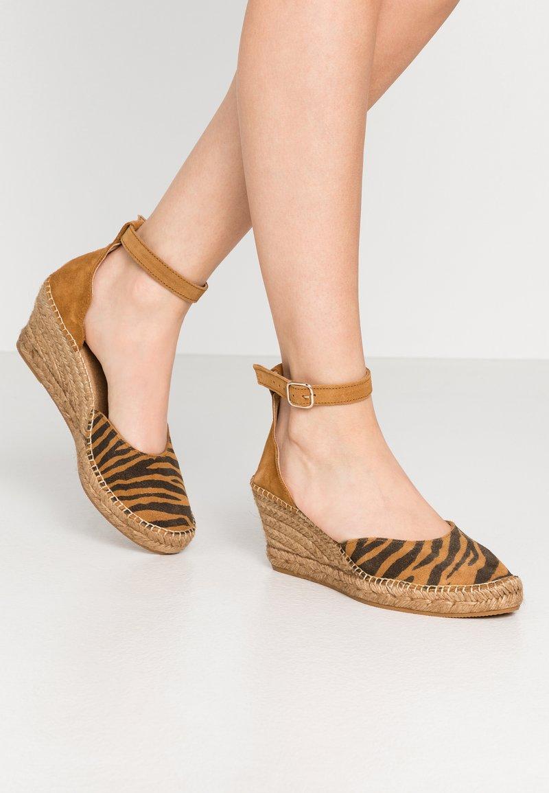 Shoe The Bear - SALOME - Plateaupumps - tan
