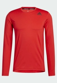 adidas Performance - TECHFIT COMPRESSION LONG-SLEEVE TOP - T-shirt à manches longues - red - 7