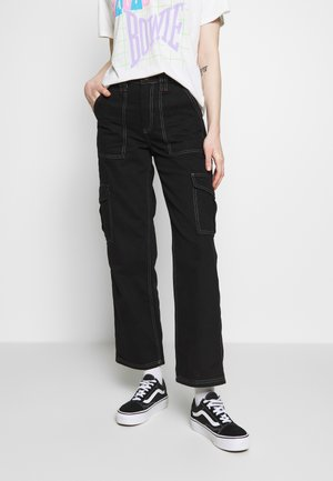 SKATE - Jeans relaxed fit - black dragon